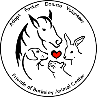 Friends of Berkeley Animal Center Adopt Foster Donate Volunteer